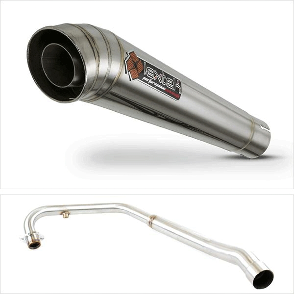 Lextek MP4 Exhaust System for Lexmoto ZSX-R 125