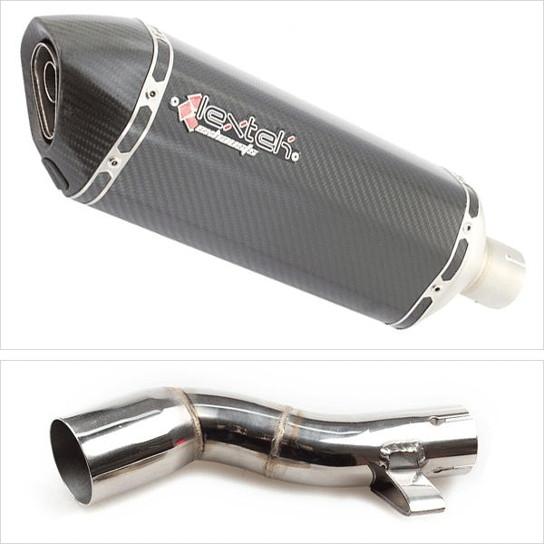 Lextek SP8C with Link Pipe for Honda NC750X (16-19)