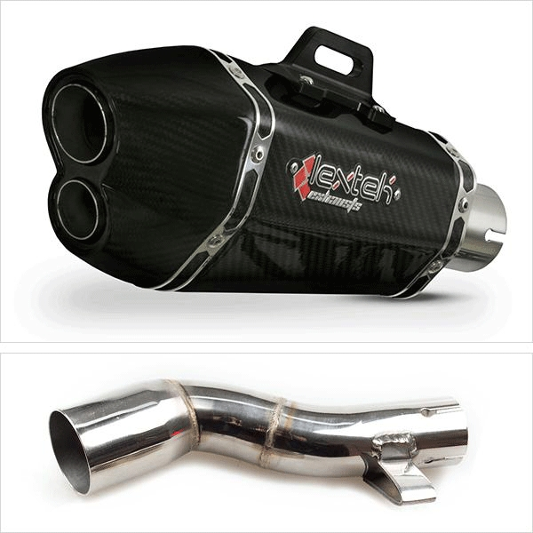 Lextek XP13C with Link Pipe for Honda NC750X (16-19)