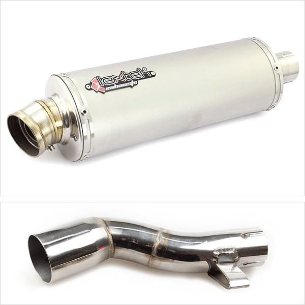 Lextek OP1 with Link Pipe for Honda NC750X (16-19)