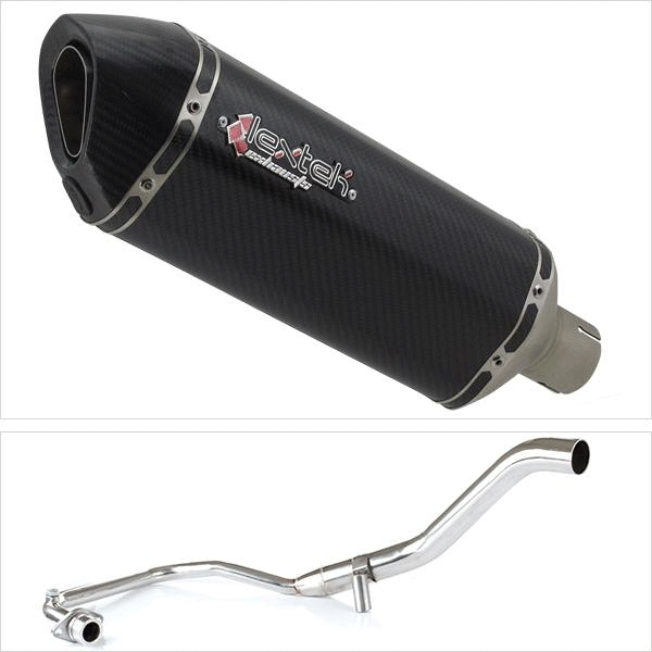 Lextek SP8C Exhaust System for Lexmoto Hawk 125 (17-19)
