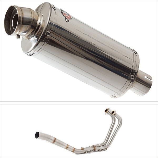 Lextek OP5 Exhaust System for Yamaha MT-03 & YZF R3 (15-18)
