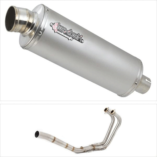 Lextek OP1 Exhaust System for Yamaha MT-03 & YZF R3 (15-18)