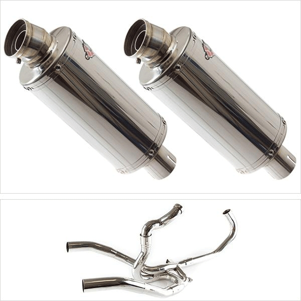 Lextek OP5X2 Exhaust System for SUZUKI SV1000 (03-07)