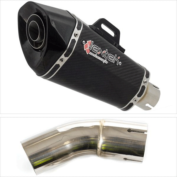 Lextek XP8C Exhaust System for Kawasaki Z900 RS (17-20)