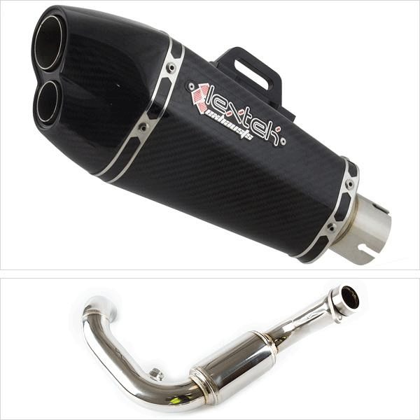 Lextek XP13C Exhaust System for BMW G310 R / GS (16-20)