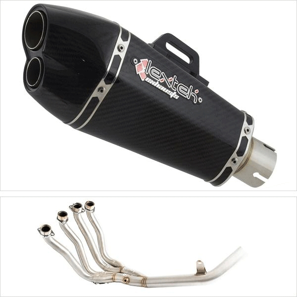 Lextek XP13C Exhaust System with Link Pipe for SUZUKI GSX-S 1000/F (15-20)
