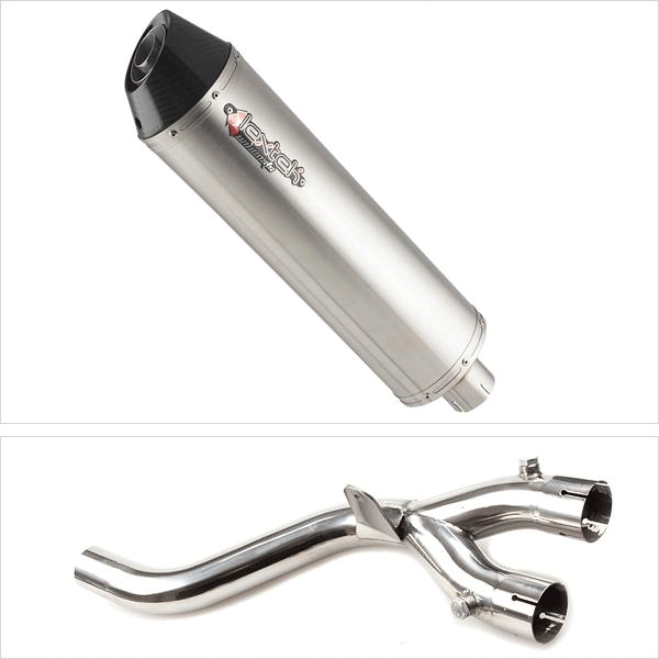 Lextek RP1GL Exhaust Kit with De-Cat Link Pipe for Yamaha MT-10 (16-19)