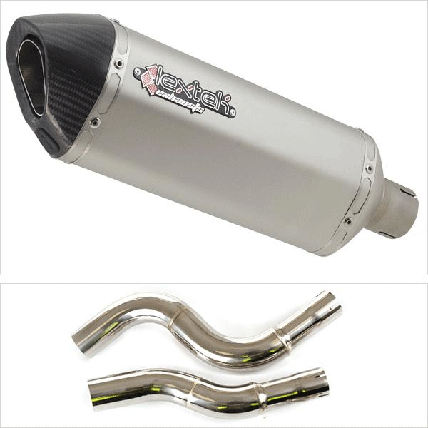 Lextek SP1 Exhaust Kit with Link Pipe for KTM 990 Adventure (06-12) / Adventure R (06-12) /