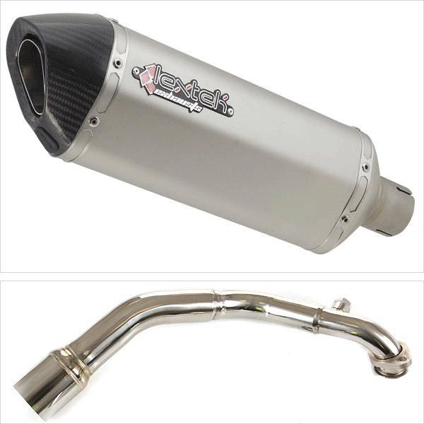 Lextek SP1 Exhaust System for LEXMOTO MILANO 125