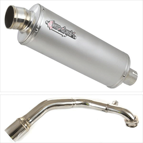 Lextek OP1 Exhaust System for LEXMOTO MILANO 125