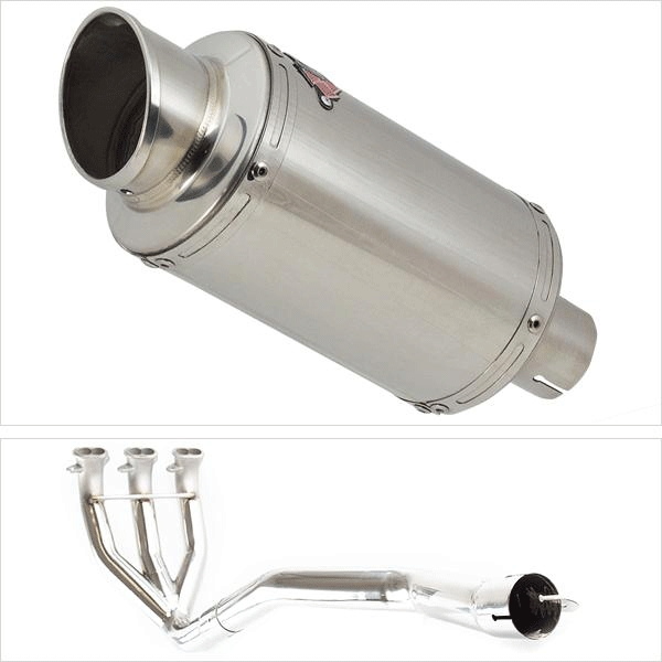 Lextek YP4 Exhaust System with Link Pipe for TRIUMPH SPRINT GT 1050 ABS (10-17)