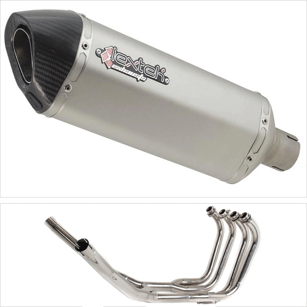 Lextek SP1X2 Exhaust System for Suzuki GSX 1400 (01-05)
