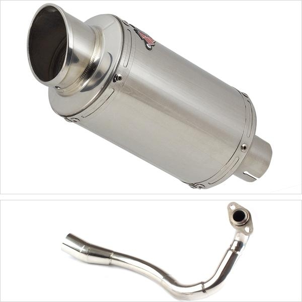 Lextek YP4 Exhaust System for HONDA PCX 125 (18-19)