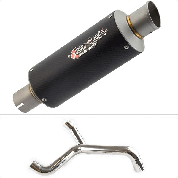 Lextek GP8C with Twin Underseat Link Pipe for Triumph Speed Triple 1050 (11-15)