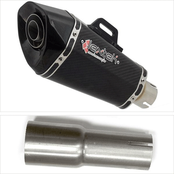 Lextek XP8C Exhaust with Link Pipe for Lexmoto/Pulse Adrenaline