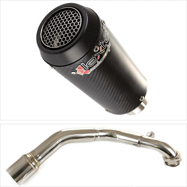 Lextek CP9C Exhaust System for LEXMOTO MILANO 125