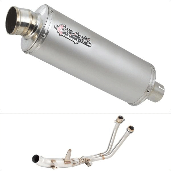 Lextek Downpipe with OP1 for Honda CBR500R & CB500F/X (13-15)