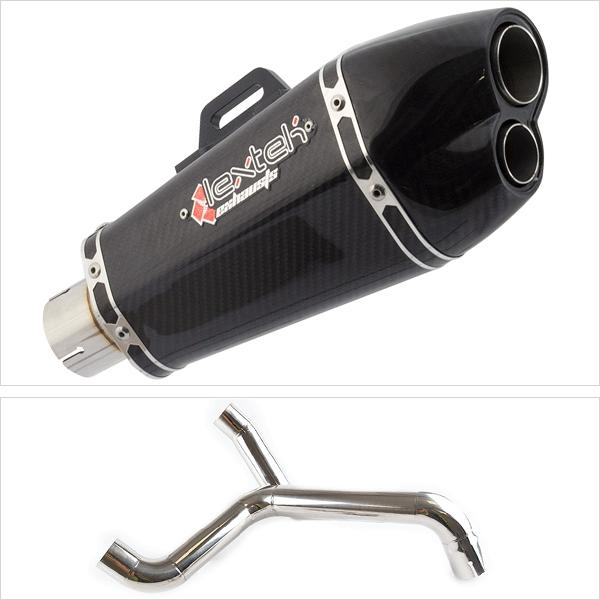 Lextek XP13CX2 with Twin Underseat Link Pipe for Triumph Speed Triple 1050 (16-20)