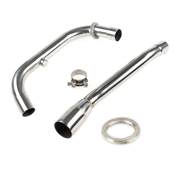 Lextek Stainless Steel Exhaust Downpipe for Lexmoto ZS125-79