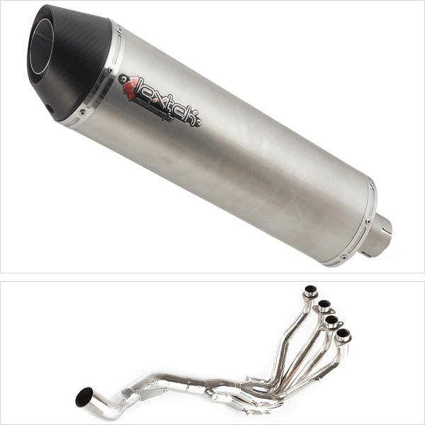 Lextek RP1 Single Sided Exhaust System for Kawasaki Z1000SX (10-18)