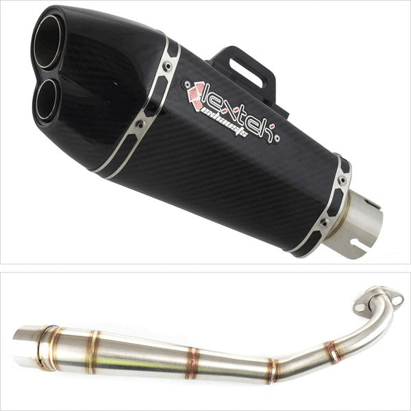 Lextek XP13C Low Level Exhaust System for HONDA MSX (13-19)