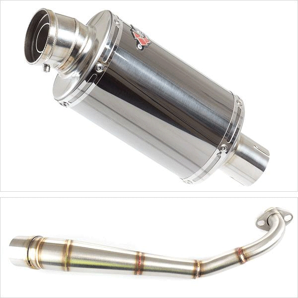 Lextek OP15 Low Level Exhaust System for HONDA MSX (13-19)