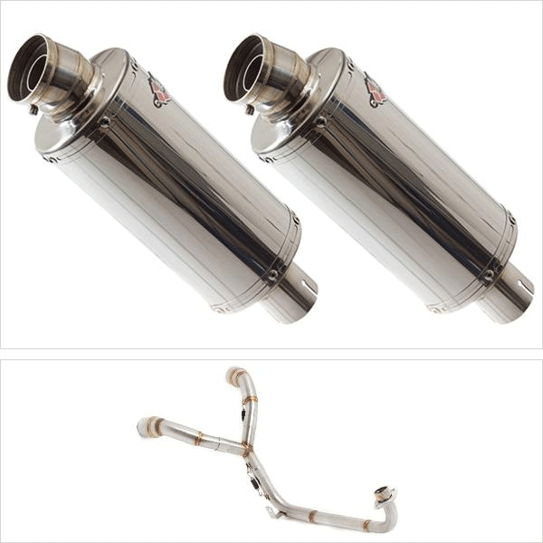 Lextek OP5 Twin Under Seat Exhaust System for HONDA MSX (13-16)