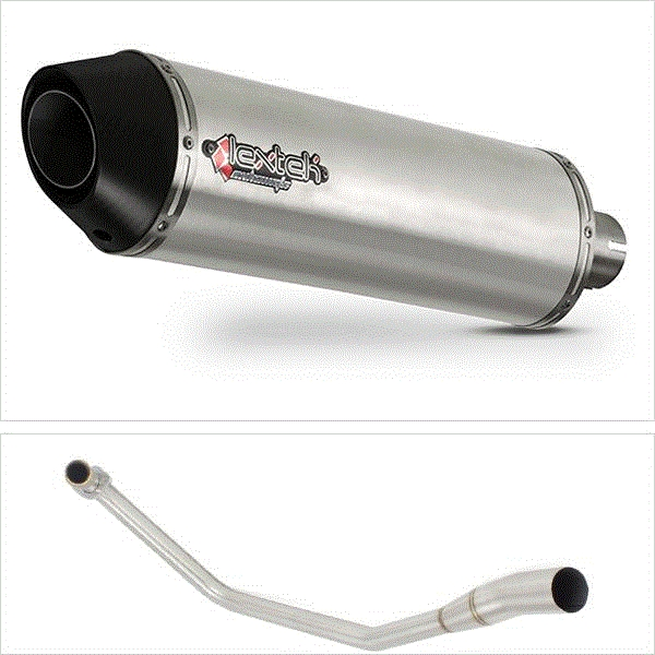 Lextek RP1 Gloss S/Steel Exhaust System for Lexmoto Venom / Viper 125