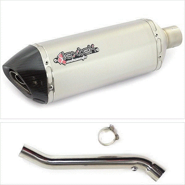 Lextek SP1 Exhaust Silencer with Link Pipe for Kawasaki ZX10R (17- )