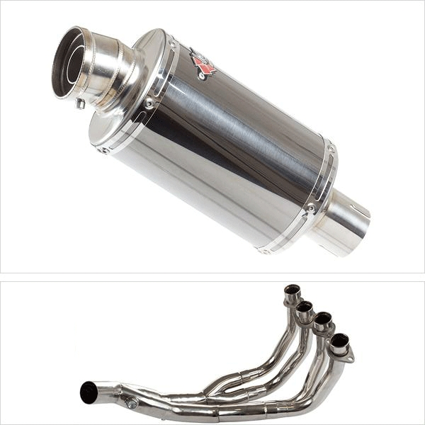 Lextek OP15 Exhaust System for Yamaha XJ6 Diversion (09-15)