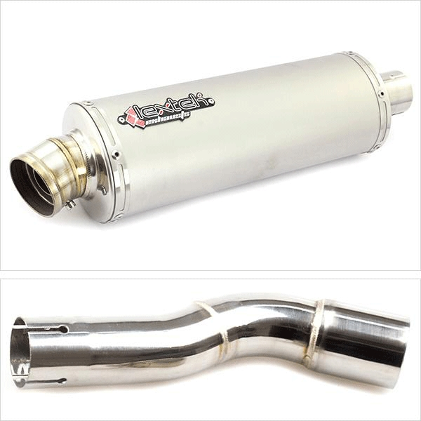Lextek OP1 Exhaust Silencer with Link Pipe for Honda CMX 500 Rebel (17-19)