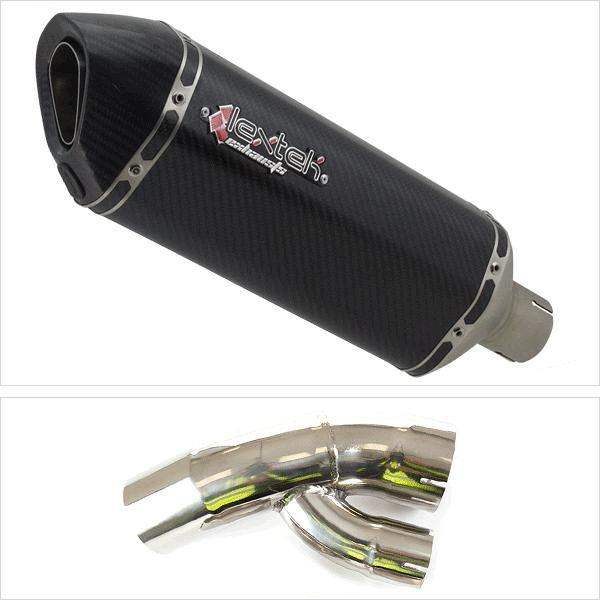 Lextek SP8C Exhaust with Link Pipe for BMW S1000 XR (15-19)
