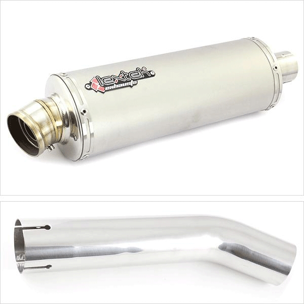 Lextek OP1 Exhaust Silencer with Link Pipe for Honda CB1300 (05-14)