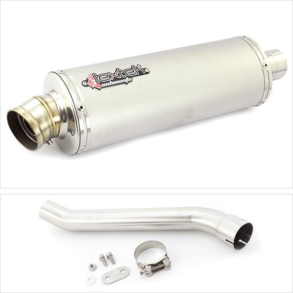 Lextek OP1 Matt S/Steel Exhaust System for Aprilia RSV 4 (09-14) Tuono (11-16)