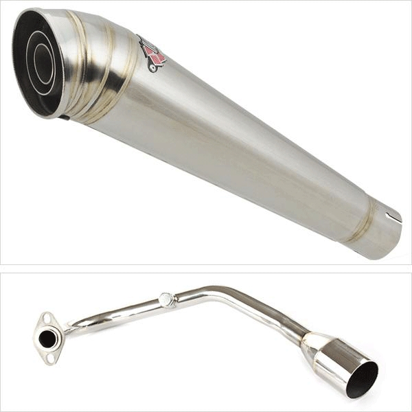 Lextek MP4 Exhaust System for Lexmoto Diablo 125 (EFI)