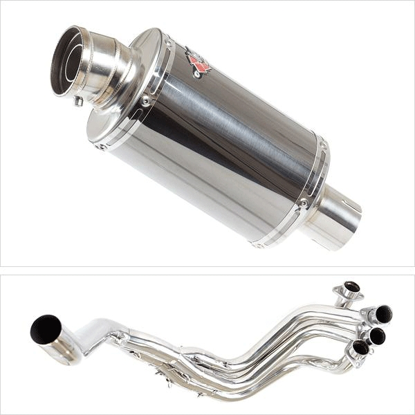 Lextek OP15 Exhaust System (Single Sided) for Honda CBR1100XX Blackbird (96-07)