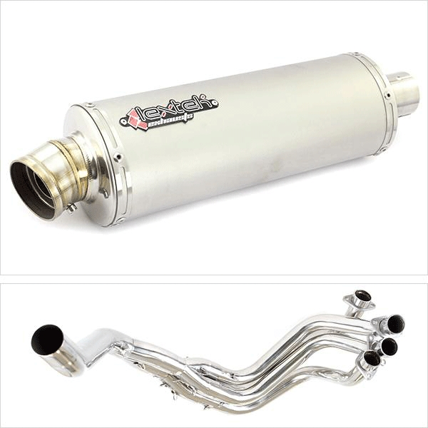 Lextek OP1 Exhaust System (Single Sided) for Honda CBR1100XX Blackbird (96-07)