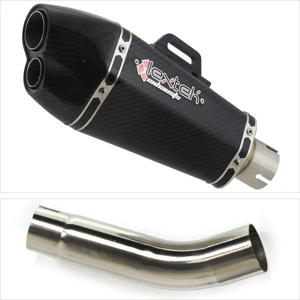 Lextek XP13C Exhaust System for SUZUKI GSXR 600 (11-19) GSXR 750 (11-19)