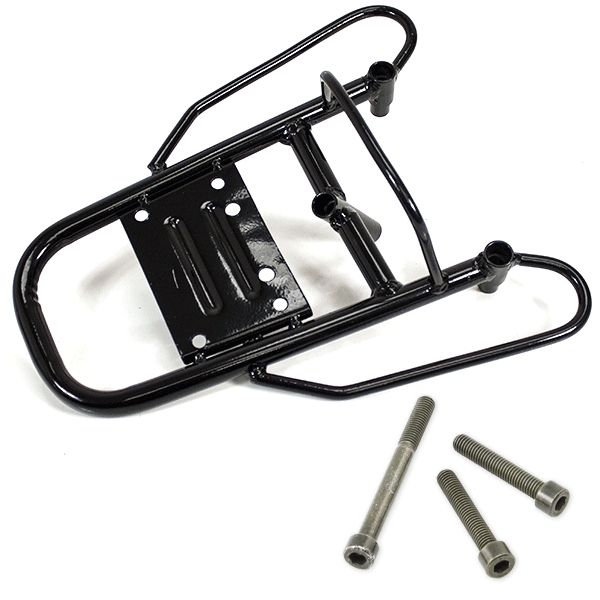 Black Luggage Rack Rear With Fitting Kit