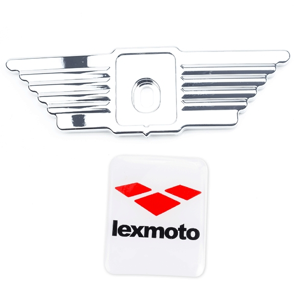 Front Chrome Trim with Lexmoto badge