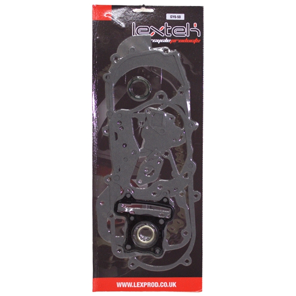 Lextek 50cc Scooter Full Gasket Set 460mm 139QMA 139QMB