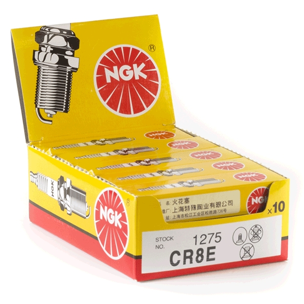 10x NGK CR8E Spark Plugs (1275)