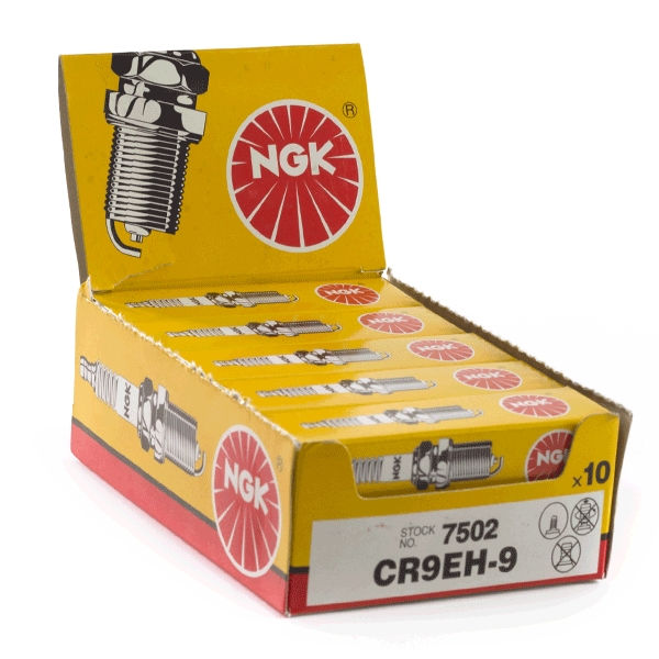 10x NGK CR9EH-9 Spark Plugs (7502)