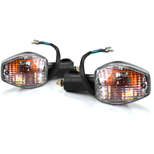 Pair of Indicator Assembly - Clear Lens for Honda CBR125