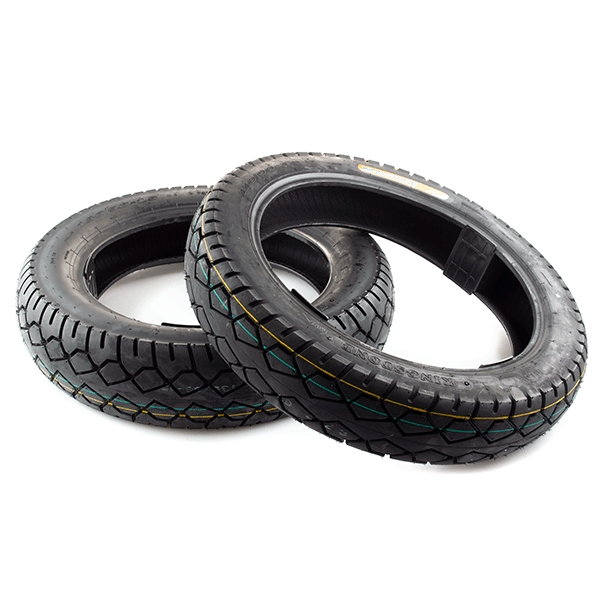 Pair of Tyres 110/90-16 130/90-15 for GZ125 GZ250