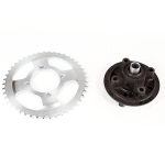 Rear Sprocket 428-45T with Hub for TD125-10C