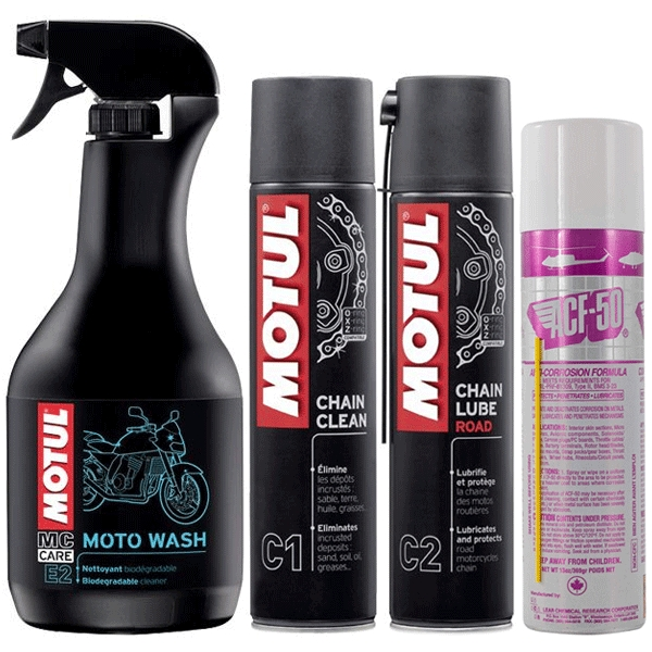 Motul/ACF-50 Winter Cleaning Set