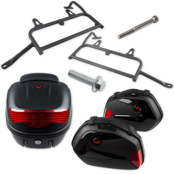 Luggage/Pannier Kit for Lexmoto Tekken MH125GY-15