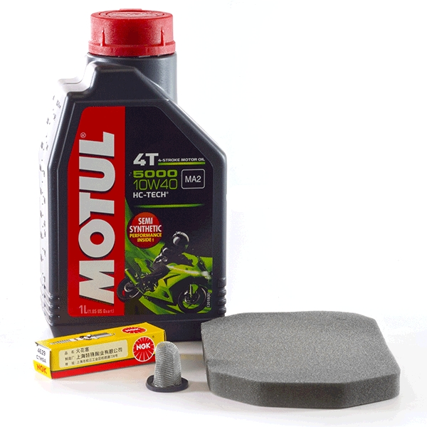 Service Kit for 100cc Motorcycle with 1P50FMG Engines